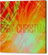 Holiday Burst Canvas Print
