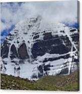 Holy Kailas North Slop Himalayas Tibet Yantra.lv Canvas Print