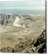 Holy Land: Masada Canvas Print