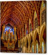 Holy Name Organ Loft Canvas Print