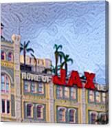 Home Of Jax Beer Canvas Print