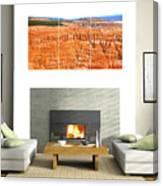 Hoodoos Of Bryce Canyon Canvas Print