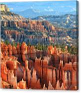 Hoodoos Of Sunset Point In Bryce Canyon Canvas Print