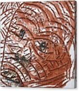 Horror - Tile Canvas Print