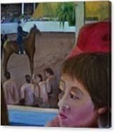 Horse Show No. 1 Canvas Print