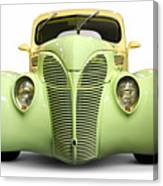 Hot Rod Ford Coupe 1938 Canvas Print