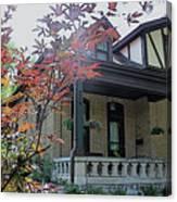 House In German Village Canvas Print