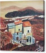 House Sorento Italy Canvas Print