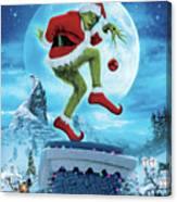 How The Grinch Stole Christmas 2000  Canvas Print
