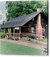 Huffman Log Cabin Canvas Print