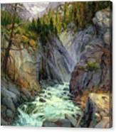 Hurricane River Canvas Print