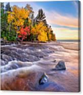 Hurricane River Sunset Canvas Print