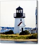 Hyannis Inner Harbor Light Canvas Print