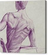 Ian's Back Canvas Print