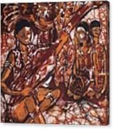 Iban Sape Canvas Print