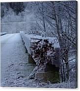 Ice Bridge Canvas Print