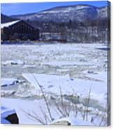 Ice Flow Canvas Print