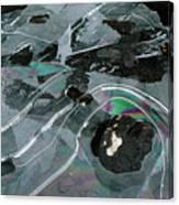 1. Ice Prismatics, Loch Tulla Canvas Print