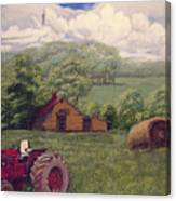 Idle In Godfrey Georgia Canvas Print