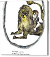 If I Had A Lion Canvas Print
