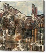 Ightham Mote Canvas Print