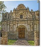 Iglesia San Jose El Viejo - Antigua Guatemala Hdr Canvas Print