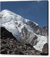 Illampu Mountain Canvas Print