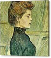 img296 Henri De Toulouse-Lautrec Canvas Print