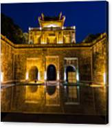 Imperial Citadel Of Hanoi Canvas Print