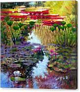 Impressions Of Summer Colors Canvas Print
