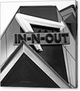 In-n-out Canvas Print
