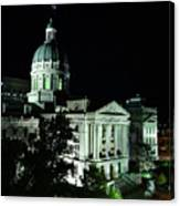 Indian State Capitol Canvas Print