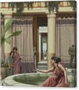 Innocent Amusements, 1891 Canvas Print