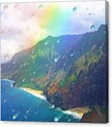 Inside A Rainbow Canvas Print