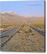 Interstate 15, Near Las Vegas, After Canvas Print