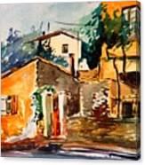Ipiros Old Houses Canvas Print