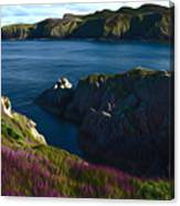 Irish Seascape Canvas Print