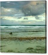 Isla De Mujeras North Shore Canvas Print