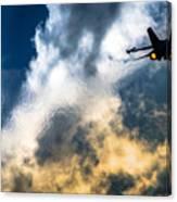Israel Air Force F-16a Netz Canvas Print