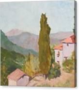 Italian Villa Canvas Print