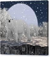It's Snowing Canvas Print