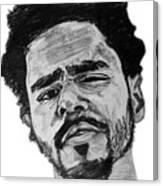 J Cole Canvas Print