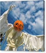 Jack-o-lantern Man Canvas Print