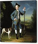 Jacob Morland Of Capplethwaite Canvas Print