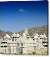 Jain Temple Of Ranakpur Canvas Print