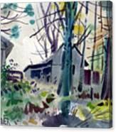 James's Barns 1 Canvas Print