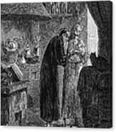 Jan Baptist Van Helmont, Flemish Chemist Canvas Print