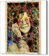 Janis Joplin Canvas Print