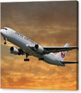Japan Airlines Boeing 767-346 Canvas Print