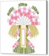Japanese Newyear Decoration Canvas Print